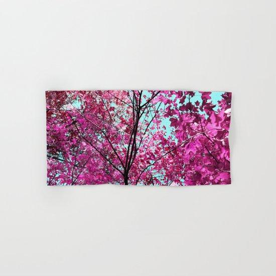 Autumn Pink Hand & Bath Towel