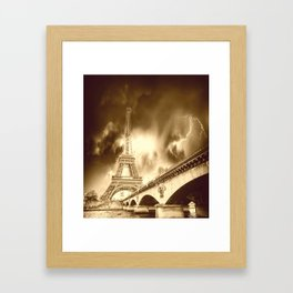 Old Paris Framed Art Print
