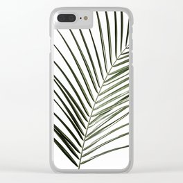 Palm Leaves 8 Clear iPhone Case