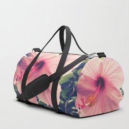 Hibiscus in the Rain Duffle Bag