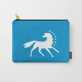 Caballo Blanco - White Horse Carry-All Pouch