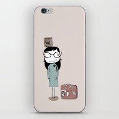 Keep Calm and Travel On iPhone & iPod Skin