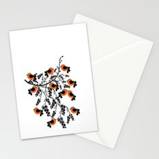 orange birds Stationery Cards