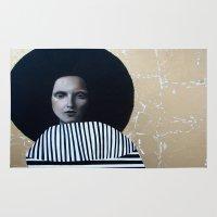 musa Area & Throw Rugs featuring MUSA by Michela Ezekiela Riba