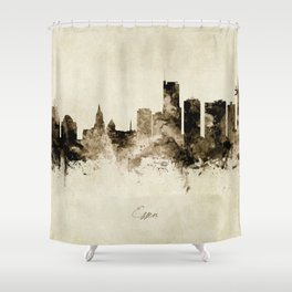 Essen Germany Skyline Shower Curtain