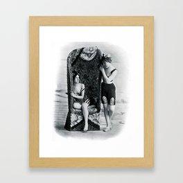 Confidences  Framed Art Print