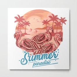 Summer Paradise Metal Print