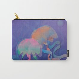 Chromatic Jellyfish Carry-All Pouch