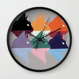 Cats, insp. Jefe Wall Clock