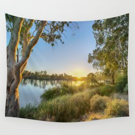 River Sunrise Wall Tapestry