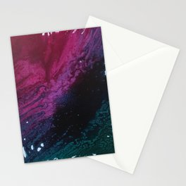 Floral Dreams Abstract Stationery Cards