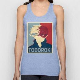 Todoroki Shouto My Hero Academia Unisex Tank Top