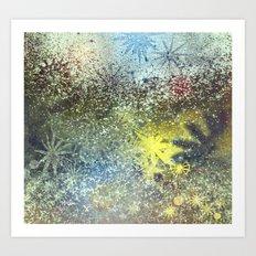 impression of water Art Print