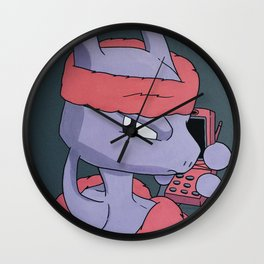 Camron X Mewtwo Wall Clock
