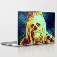 chewbacca Laptop & iPad Skins featuring Chewbacca by victorygarlic - Niki