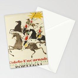 Affiche Travel Poster Colete Encarnado Red Vests Portugal Oskar Xira Stationery Cards