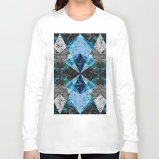 Marble Geometric Background G432 Long Sleeve T-shirt