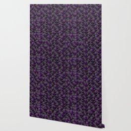Tech Mosaic Purple Wallpaper