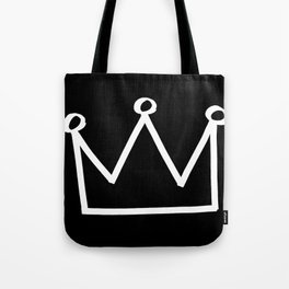 P&Ls: King White Tote Bag