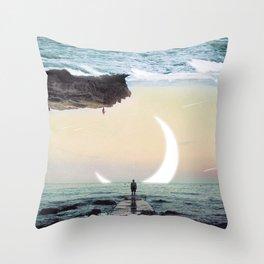 Oceanside Exploration Throw Pillow
