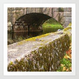 Stone Bridge Art Print