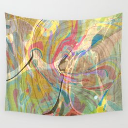 Abstract Painting ; Riptide Wall Tapestry