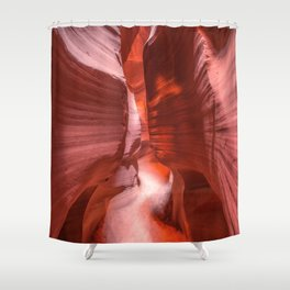 Path of Light - The Beauty of Antelope Canyon in Arizona Shower Curtain