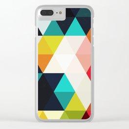 Diamonds Clear iPhone Case
