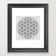Exhilarate - The Sacred Geometry Collection Framed Art Print