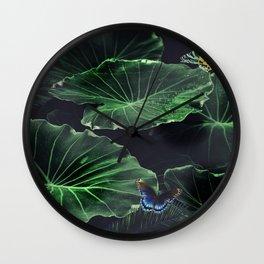 L&B Nature Colour Wall Clock
