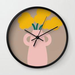 Patootie Vase Wall Clock