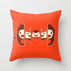 Mario-shka Throw Pillow