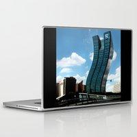 buildings Laptop & iPad Skins featuring Buildings by Kathleen Stephens