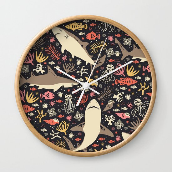 Oceanica Wall Clock