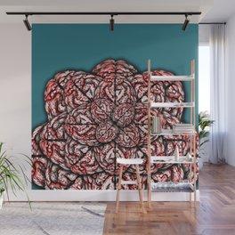 Brain Flower Wall Mural