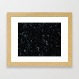 Grey Neurons Framed Art Print
