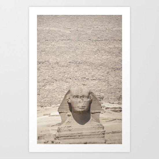 Great Pyramid Art Print