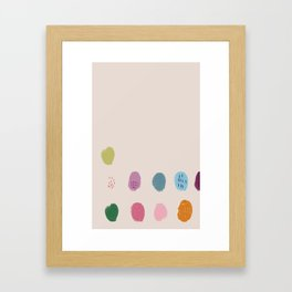 Thumbprint Framed Art Print