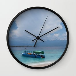 The island life Wall Clock