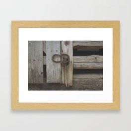 Rustic Country Americana Framed Art Print