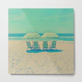 Sun Bathing Metal Print