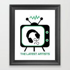 The Latest Artists Framed Art Print