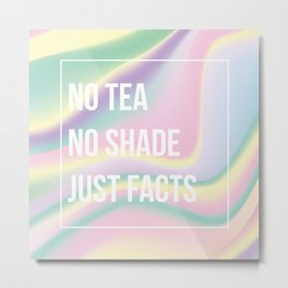 Just Facts Metal Print