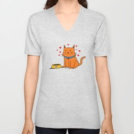 Matt the Cat Unisex V-Neck