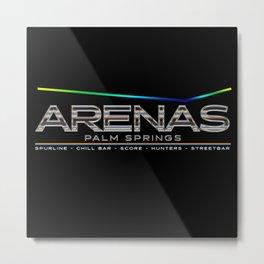 Arenas Palm Springs Metal Print