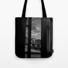 Noir Paris II Tote Bag