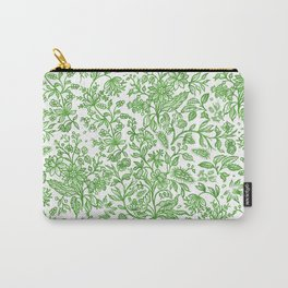 Flower Style Pattern XLII Carry-All Pouch