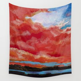 Lake Powell Sunset Wall Tapestry