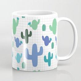 Cactus blue and green #homedecor Coffee Mug