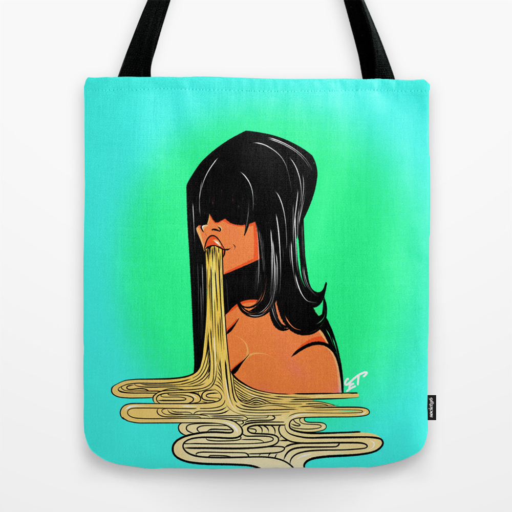 Ramen Girl Tote Purse by Emilytheodore (TBG9619423) photo